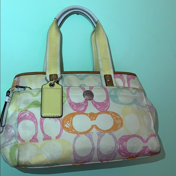 Coach Easter Colors Purse